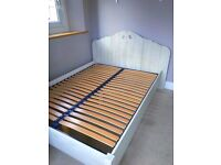 Girls Double Bed+Matching Wardrobe From Maison Du Monde - LOCAL FREE DELIVERY