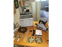 Festool TS55 REBQ very good condition 2x rails 2x blades systainer accessories 240v