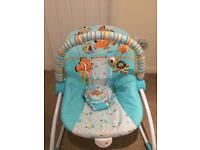 Fisher price baby to toddler vibrating chair