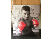 MIKE TYSON BOXING PICTURE ON CANVAS