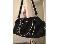 Nike black gym bag