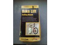 Bike Hoist/Lift/Pulley system. Bike storage.