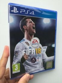 **SEALED** FIFA18 PS4 GAME BRAND NEW FIFA 18 FOR PLAYSTATION 4. GENUINE UK STOCK