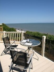 Stunning sea view for sale, comes with static caravan coastal holiday home