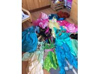 Large bundle of dressing up costumes, some official Disney, to fit age 4 - 6