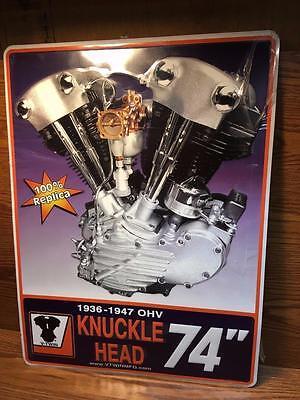 Great Bargain Gift Metal Sign for Harley Biker Garage, Clearance Sale, Scratch