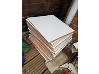 White floor/wall tiles 45x45 (33 available)