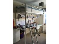 Ikea Loft bed bunk bed with desk