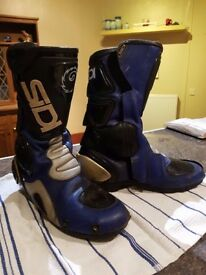 Sidi Motorcycle Boots Size 9