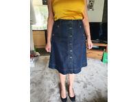 Ladies Hobbs Denim Skirt
