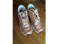 Rose Gold Air Max trainers