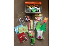 Bundle of children's arts & crafts