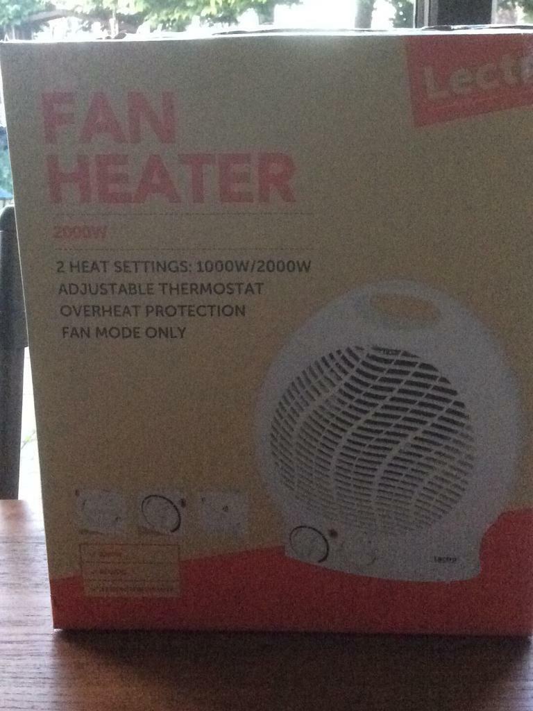 lectro fan heater