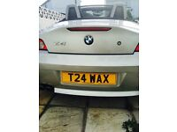 BMW Z4 2.5i convertible excellent condition powder coated wheels