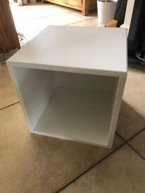 Ikea Eket, white cube wall storage units x2 - brand new, never used