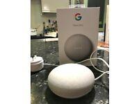 New Google Nest Mini Smart Speaker - 2nd generation