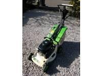 Etesia Phe petrol lawnmower lawn mower rotary grass box