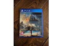 Playstation 4 - Assassin's Creed Origins game