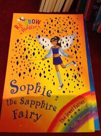 Rainbow Magic Sophie the Sapphire Fairy Book
