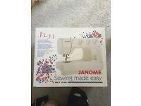 Janome sewing machine j3-24