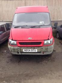 Ford transit 2.4 90 t350 breaking 2004