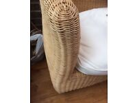 Wicker sofa, very solid and good condition