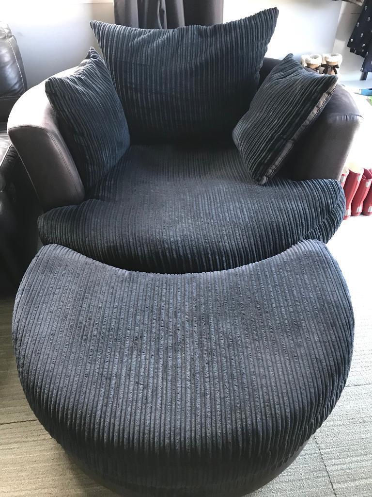 Dfs cuddle/swivel chair
