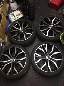 mk6 golf gtd santiago wheels & tyres