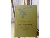 Vintage book - Encyclopedia of Needlework by TH. De Dillmont - sewing techniques, making - with case