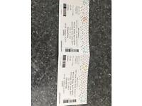 2 Tom Clarke Tickets(Enemy)