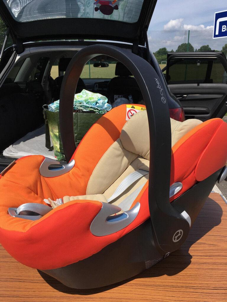 Infant Car Seat Aton Q Cybex And ISOFIX Base