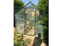 6ft x 6ft Greenhouse - very good condition - buyer to collect and dismantle