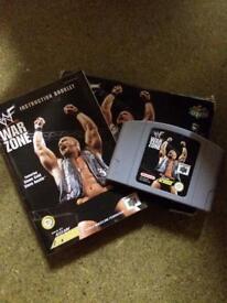 Nintendo 64 WWF War Zone