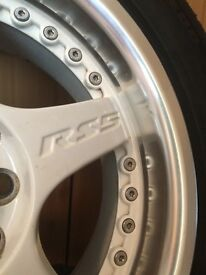 "15"" Lenso rs5 alloy wheels"