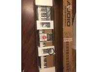 M-Audio Keystation 88 II Ultra-Portable 88-Key USB/MIDI Keyboard BRAND NEW