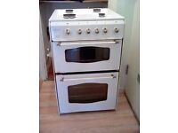 Gas Oven four burner. Top oven and grill. Only a year old. Suitable for collection only.
