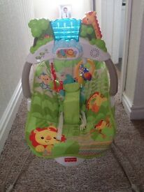 DuluXe fisher price jungle bouncer