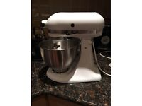 Kitchen Aid Classic - White with accessories