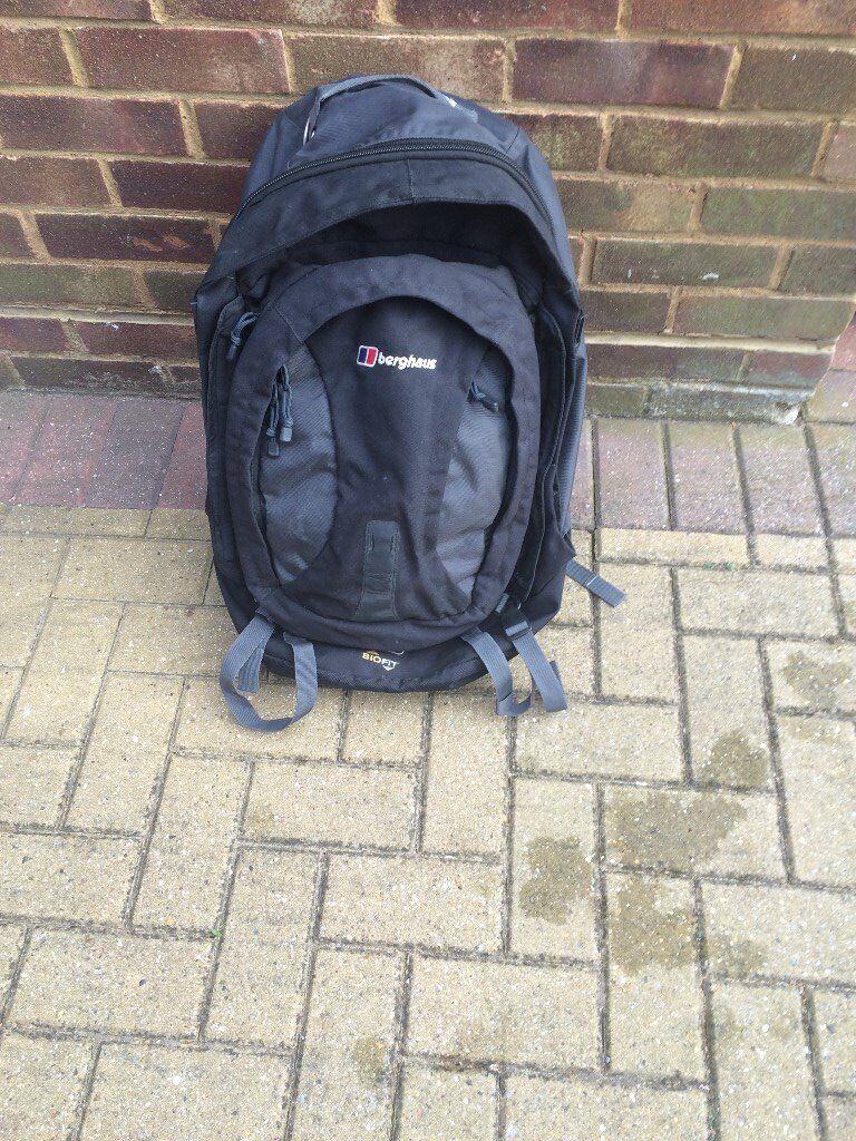 Berghaus Backpack - 55 litre, plus 15 litre detachable day backpack