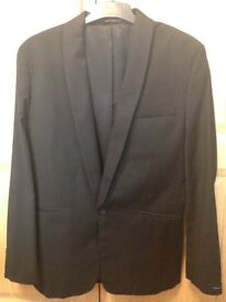 French Connection mens jacket in black size medium