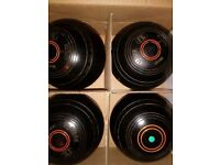 Indoor bowls set of 4