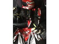 max equipe motocross items for 8-10 yrs old