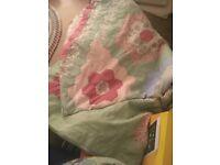 Large welsh patchwork quilt