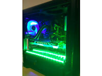 GREEN Gaming PC Core i5 4th gen GeForce GTX 780 3GB SSD+HDD 8GB RAM Win10 Pro