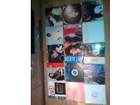 """30 x Janet Jermaine Michael Jackson vinyls LPs /12"""""""