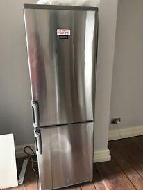 Zanussi stainless steel fridge freezer