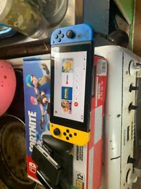Nintendo switch fornite edition for sale