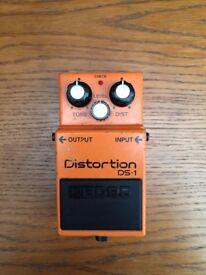 Boss DS-1 Distortion Guitar Effect Pedal