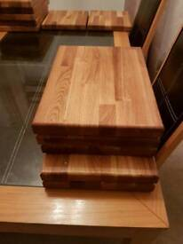 Hand made oak chopping boards