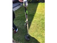 Gtech ST20 cordless grass trimmer + spare blades